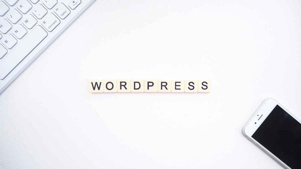 blogging with wordpress -