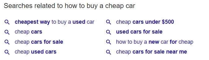 google related keyword