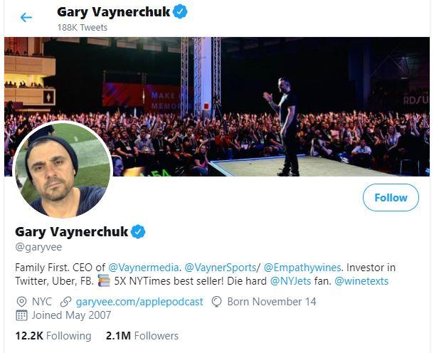 gary vee twitter