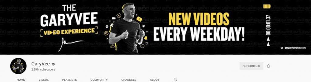 gary vee youtube -