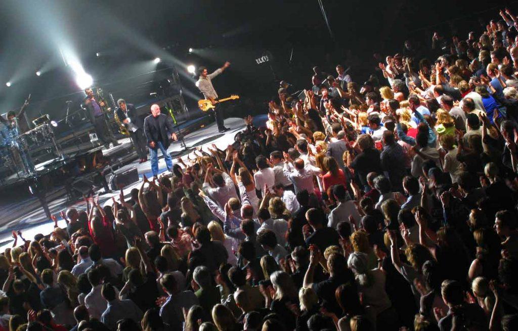 billy joel on stage