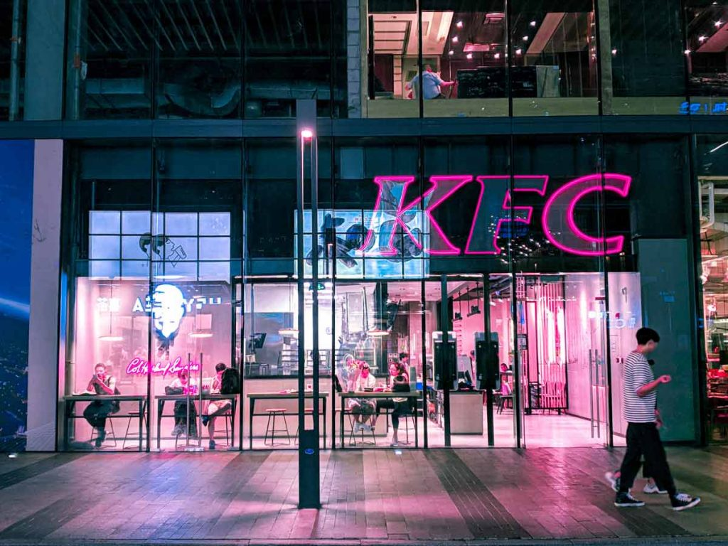 which Stores Accept Bitcoin kfc