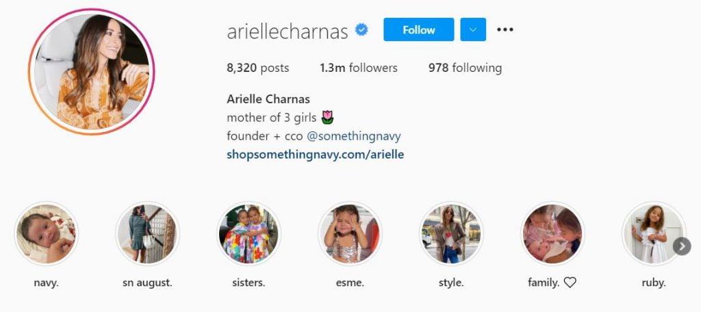 arielle Charnas Net Worth